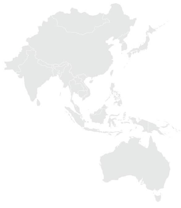 Asia Australia Map